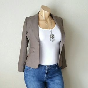 Tahari ASL Brown Blazer